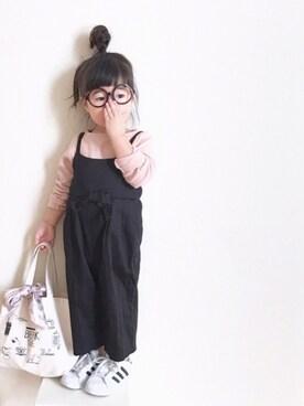 yuiさんの「リブボートネックTシャツ(CIAOPANIC TYPY)」を使ったコーディネート