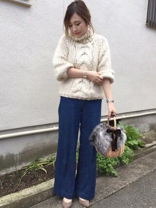 mizuhoさんの「bague de perleリング(JUPITER|ジュピター)」を使ったコーディネート