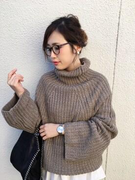 mizuhoさんの(ZARA|ザラ)を使ったコーディネート