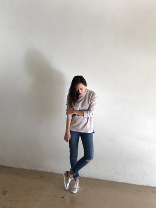 「Paige Denim 'Skyline' Ankle Peg Jeans (Elia Deconstructed)(Paige Denim)」 using this MIN looks