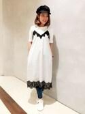 JEANASIS浜松メイワン店STAFFさんの「キャスケット/757098(JEANASIS|ジーナシス)」を使ったコーディネート
