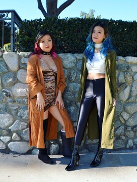(FOREVER 21) using this Chloe  and Cindy  looks