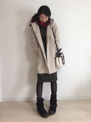 yuiさんの(UNIQLO|ユニクロ)を使ったコーディネート