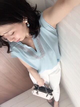 yui  さんの「(GU)ポインテッドパンプス(GU|ジーユー)」を使ったコーディネート