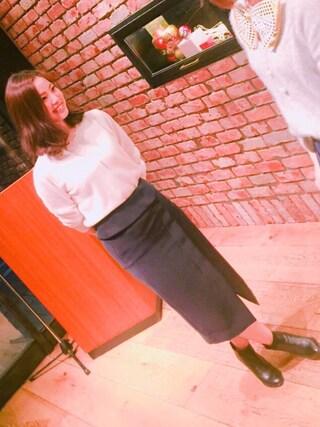 naaat..mさんの「ダブルクロススカート(Loungedress|ラウンジドレス)」を使ったコーディネート