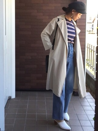 mayuさんの「春夏新作★ミュールサンダル★7218(ORiental TRaffic|オリエンタルトラフィック)」を使ったコーディネート
