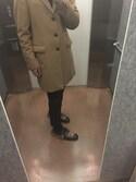 「Gucci - Princetown フラットミュール - men - レザー/ポリエステル/Lamb Fur - 11(Gucci)」 using this Bam looks