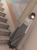 yunaさんの「スリットマキシスカート【niko and...】(niko and...|ニコアンド)」を使ったコーディネート