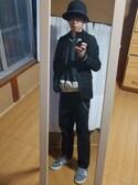 K.Daisuke  is wearing mont-bell