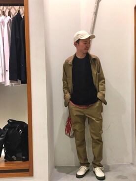 SEVENDAYS=SUNDAYアリオ橋本|zakikameさんのTシャツ/カットソー「【STARTER】 L/S ポケットTEE(SEVENDAYS=SUNDAY|セブンデイズサンデイ)」を使ったコーディネート