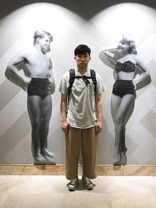 高橋愛さんの(VOTE MAKE NEW CLOTHES|ボートメイクニュークローズ)を使ったコーディネート