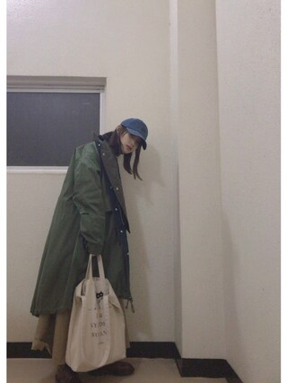 高橋愛さんの「X-girlxNEWERA 9TWENTY(X-girl|エックスガール)」を使ったコーディネート