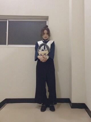 高橋愛さんの「CAT BASKET(Casselini|キャセリーニ)」を使ったコーディネート