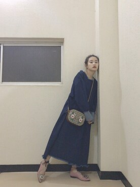 高橋愛さんの(TOGA PULLA|トーガ プルラ)を使ったコーディネート
