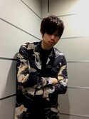 「BRACE TONIC CREW(ALLSAINTS)」 using this Bassy looks