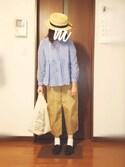 moezouさんの「ミニマルシェバッグ / Mini Marche Bag(TODAY'S SPECIAL|トゥデイズスペシャル)」を使ったコーディネート