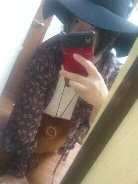 「オリジナル フェルトラウンドハット【niko and ...】(niko and...)」 using this みおり looks