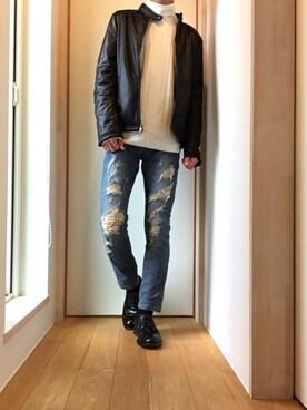 たかみ~さんの(Yves Saint Laurent|イヴサンローラン)を使ったコーディネート