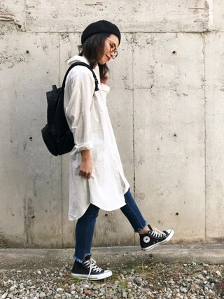 「TANKER/DAY PACK(PORTER)」 using this NANA looks