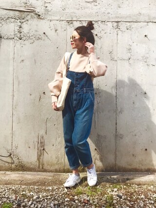「スペルガ/SUPERGA メタリックSNK(SUPERGA)」 using this NANA looks