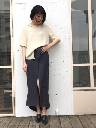 MIDWEST TOKYO WOMEN|kawamuraさんの(RITO|リト)を使ったコーディネート