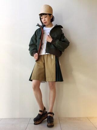 MIDWEST TOKYO WOMEN|kawamuraさんの(Sacai|サカイ)を使ったコーディネート