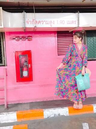 夏焼雅さんの(タイで購入)を使ったコーディネート