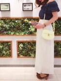 Simoneさんの「【雑誌掲載】メキシカンシリーズ iPhone6/6s/7ケース プラスチックバージョン◆(Samantha Thavasa Petit Choice サマンサタバサ プチチョイス)」を使ったコーディネート