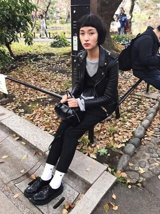 KAINO Yuさんの「UR YAHKI YH-69(YAHKI ヤーキ)」を使ったコーディネート
