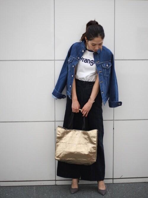 Ayano Fujitaさんの(6(ROKU) BEAUTY&YOUTH UNITED ARROWS)を使ったコーディネート