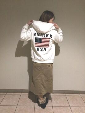 AVIREX  札幌|SAHOさんの(AVIREX|アヴィレックス)を使ったコーディネート