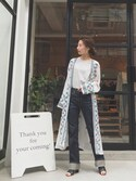 Nakai     Ayamiさんの「BOXタンクトップ(TODAYFUL|トゥデイフル)」を使ったコーディネート