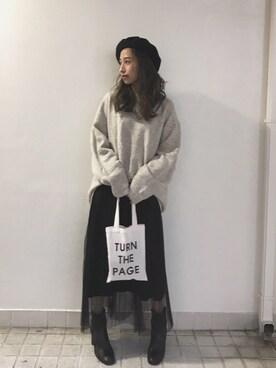 LIFE's堀江店|Nakai     Ayamiさんの(ZARA)を使ったコーディネート