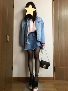 nanamiさんの(SENSE OF PLACE by URBAN RESEARCH|センス オブ プレイス バイ アーバンリサーチ)を使ったコーディネート