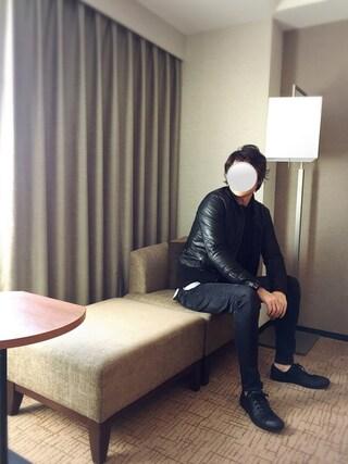 「converse コンバース レザーオールスター OX LEATHER ALL STAR OX BLACK_MONO(CONVERSE)」 using this Seawee(シーウィー) looks