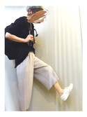 s a y a k aさんの「CONVERSE / JACK PURCEL(CONVERSE|ザラ)」を使ったコーディネート