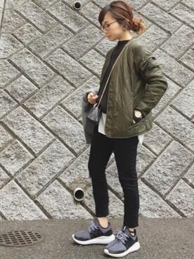 chanpekoさんの「シャツ風 キャミセット victoria ボトルネックプルオーバー◆(IENA|イエナ)」を使ったコーディネート