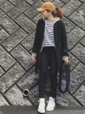 chanpekoさんの「BAGGU: メッシュ エコバッグ(SHIPS Days|シップス デイズ)」を使ったコーディネート