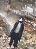 kentaさんの「MEN カシミヤクルーネックセーター(長袖)(ユニクロ|ユニクロ)」を使ったコーディネート