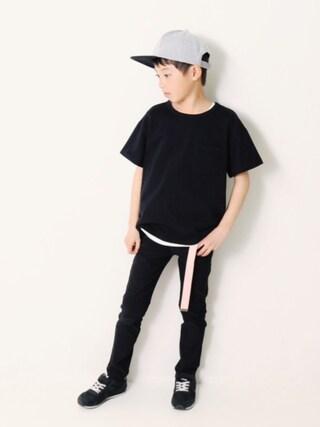 「BIGシルエット半袖Tシャツ ビッグT BIGTシャツ(devirock)」 using this devirock|devirock looks