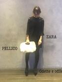 rika.oyaさんの「ペリーコ/PELLICO ANELLI -R BAG/バッグ(PELLICO ペリーコ)」を使ったコーディネート