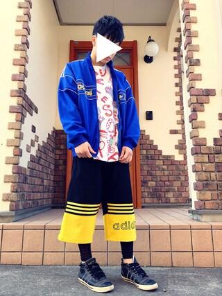 ナカノ ヒビキさんの(adidas|アディダス)を使ったコーディネート