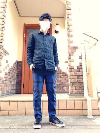 ナカノ ヒビキさんの(UNIQLO|ユニクロ)を使ったコーディネート