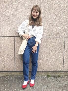安中亜美さんの(Omekashi|オメカシ)を使ったコーディネート