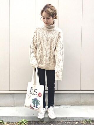 「缶バッチ付きトート(THE SHINZONE)」 using this 安中亜美 looks