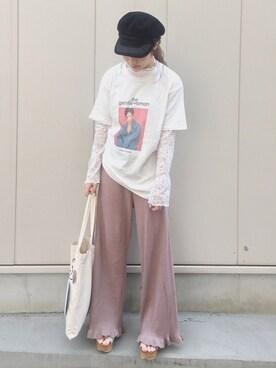 安中亜美さんの(THE SHINZONE|ザ シンゾーン)を使ったコーディネート