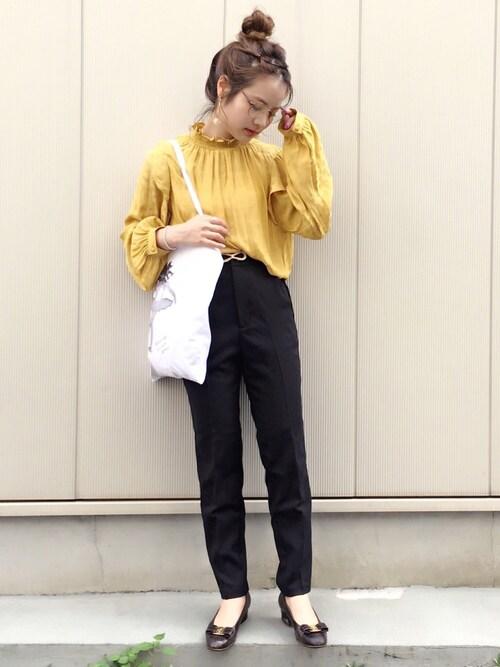 安中亜美さんの「TONDABAYASHIRAN×etoile LULU トートバッグ◆(EDIT. FOR LULU)」を使ったコーディネート