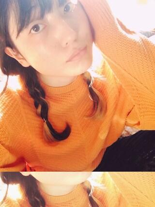 沙田瑞紀 さんの「ベロアパンツ(merry jenny|メリージェニー)」を使ったコーディネート