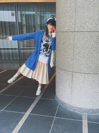 沙田瑞紀 さんの「Cerulean SK(LAYMEE|レイミー)」を使ったコーディネート