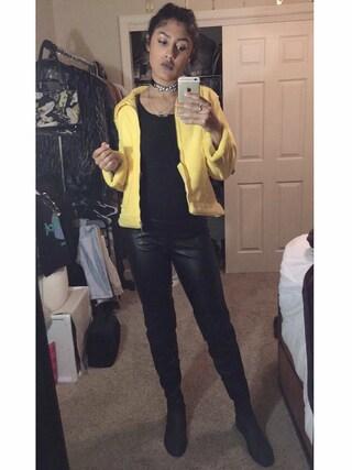 「High neck cami(Topshop)」 using this Debbie Ruiz looks